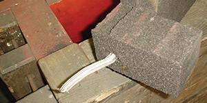 Венты-шнуры для отвода избыточных газов из стержня