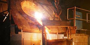 Футеровочный материал для плавильных индукционных печей